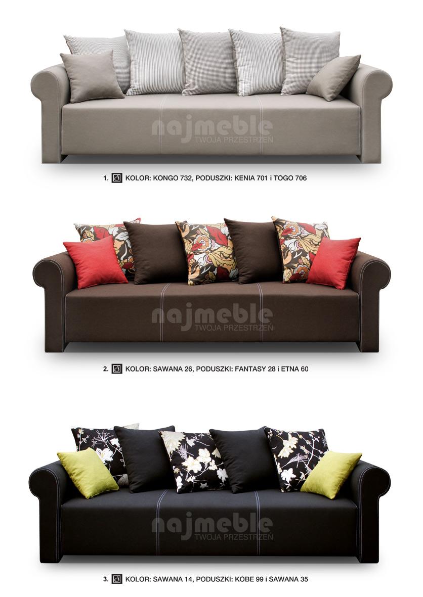 retro stylowa kanapa