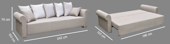 sofa stylowa do salonu