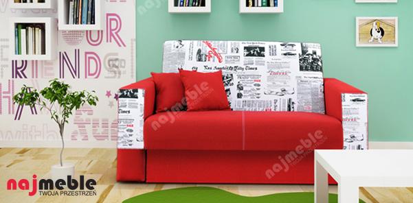 meble dla dzieci sofa gaga