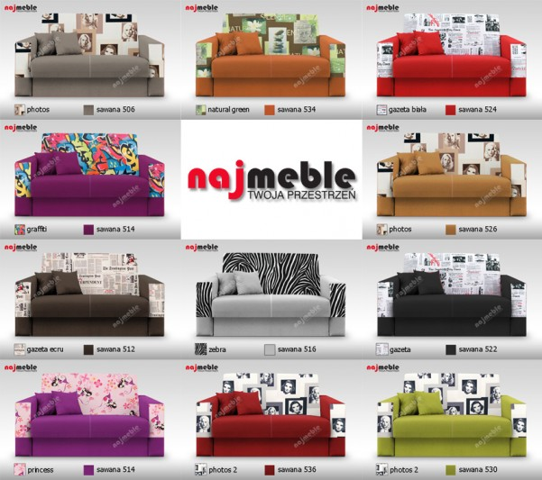 sofy meble dla dzieci