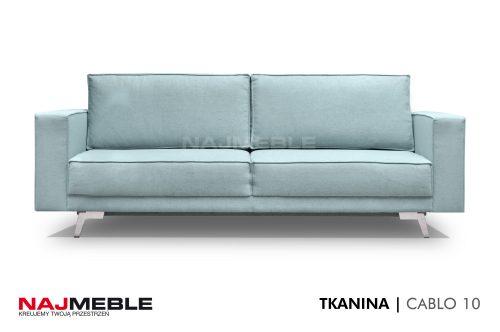 błękitna sofa
