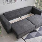 sofa loftowa z pojemnikiem