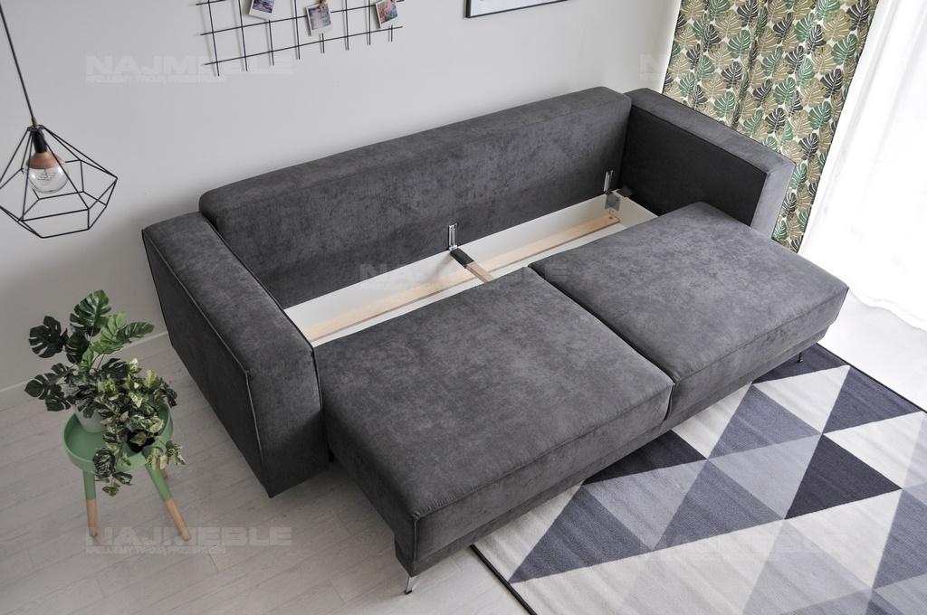 Sofa Loftowa Osvald Rozkładana Z Pojemnikiem Do Loftów I Skandynawska