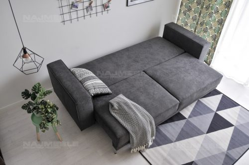 sofa z funkcją spania do loftów