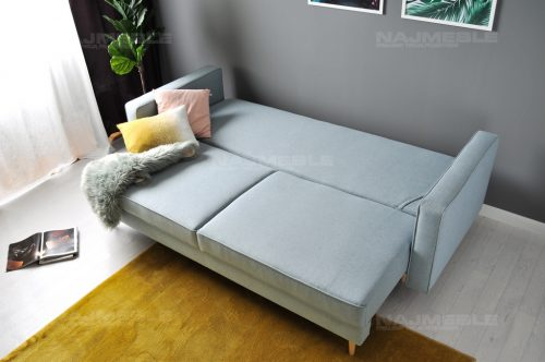 sofa z pojemnikiem rozkładana