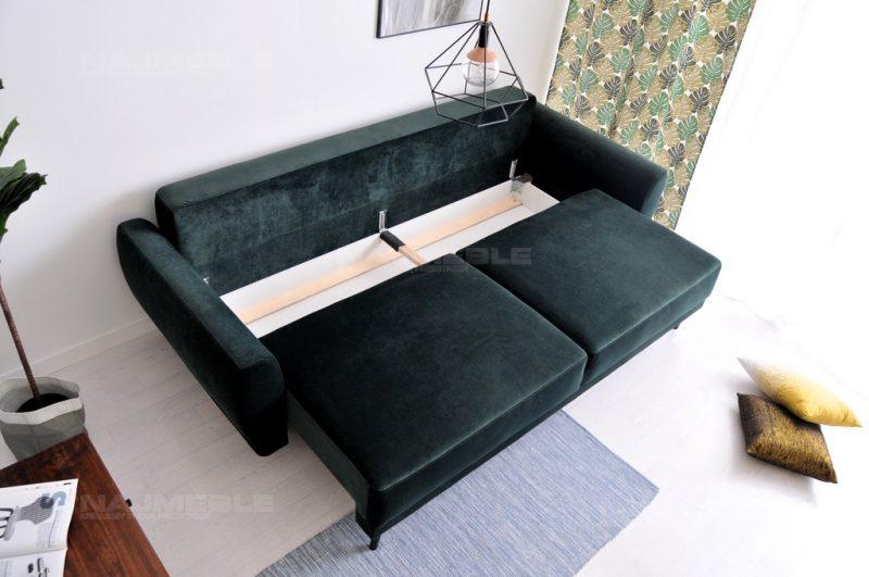 sofa skandynawska z pojemnikiem
