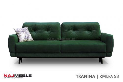sofa zielona butelka