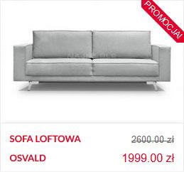 szara sofa do loftów